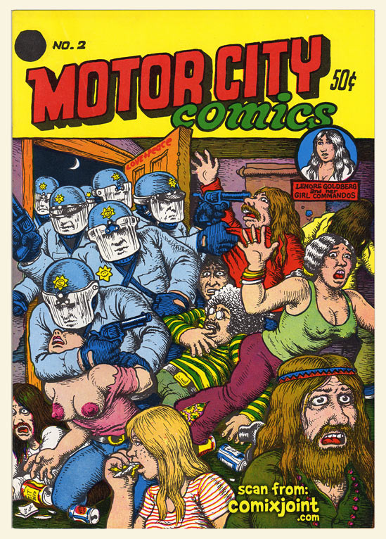 MotorCity Comics Number 2 is going for close to 1400 dollars on ebay