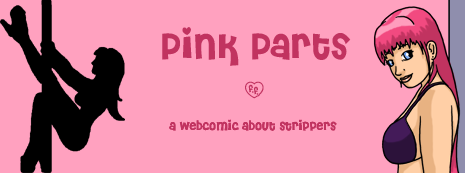 Webcomic about strippers